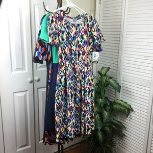 LULAROE DRESSES BRAND NEW WITH TAGS
